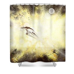 Narrow Escape Shower Curtain