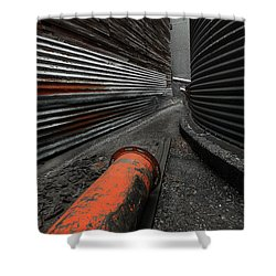 Narrow Passage Shower Curtain