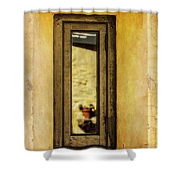 Narrow Reflections Shower Curtain