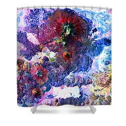Nasa Image-andes Mts., Chile - Bolivia-2  Shower Curtain