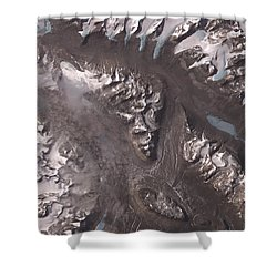 Nasa Image-dry Valleys, Antarctica-2 Shower Curtain