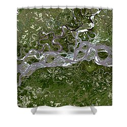 Nasa Image-fort Yukon, Alaska-2 Shower Curtain