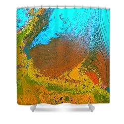 Nasa Image-malaspina Glacier, Alaska-glacier-2 Shower Curtain