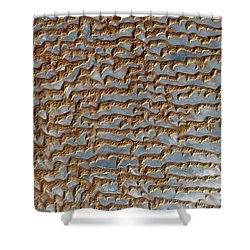 Nasa Image-rub' Al Khali, Arabia-2 Shower Curtain