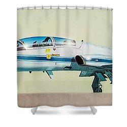 Nasa T-38 Talon Shower Curtain