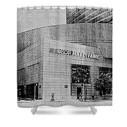 Nascar Hall Of Fame 2 Shower Curtain