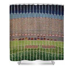Nascar Race Shower Curtain