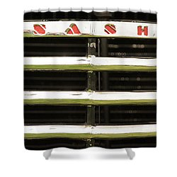 Nash Grill Shower Curtain