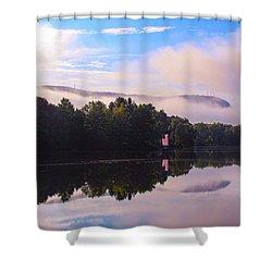 Nashawannuck Pond, Easthampton, Ma Shower Curtain