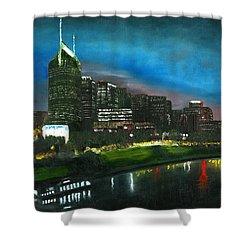 Nashville Nights Shower Curtain