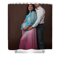 Nasiba And Clinton Shower Curtain
