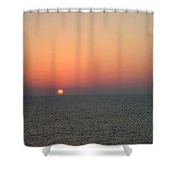 Nassau Sunset Shower Curtain