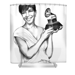 Natalie Cole Shower Curtain