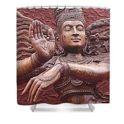 Nataraj, Fort Kochi Shower Curtain by Jennifer Mazzucco