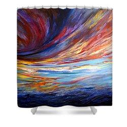 Natchez Sky Shower Curtain