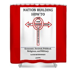 Nation Building How To Book Shower Curtain