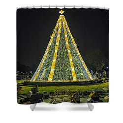 National Christmas Tree #1 Shower Curtain