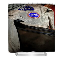 National Hot Rod Shower Curtain