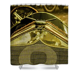 Indy Race Car Museum Shower Curtain