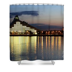 National Library Of Latvia Shower Curtain