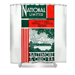 National Limited Shower Curtain