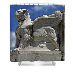 National Monument To Victor Emmanuel II Shower Curtain