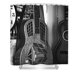 National Steel Guitar No. 24 Shower Curtain