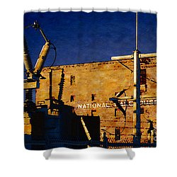 National Warehouse Corp Shower Curtain by David Blank