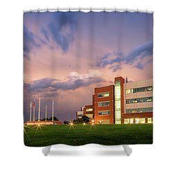 National Weather Center II Shower Curtain