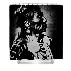 Native American 2 Curtis Shower Curtain