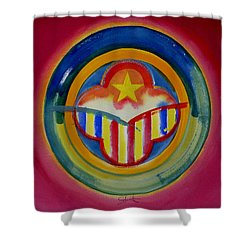 Native American Shower Curtain by Charles Stuart