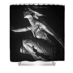 Native American Night Shower Curtain