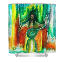 Native Awakenings Shower Curtain