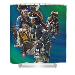 Native Children Entrance Shower Curtain
