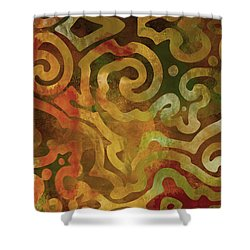 Native Elements Earth Tones Shower Curtain