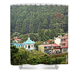 Shower Curtain featuring the photograph Native Village In Taiwan by Yali Shi
