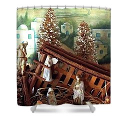 Nativity Of Our Lord Shower Curtain