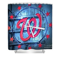 Nats Time Shower Curtain