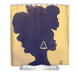 Natural Beauty Shower Curtain by Ty