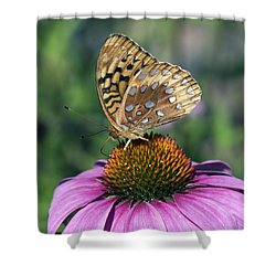 Shower Curtain featuring the photograph Natural Colors by Stephen Flint