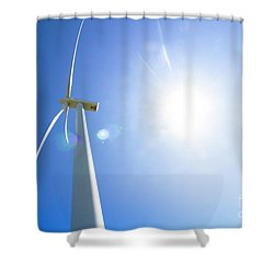 Natural Electricity Shower Curtain