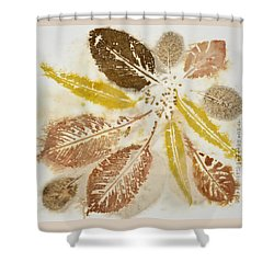Natural Elements 12  Shower Curtain