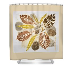 Natural Elements 5 Shower Curtain