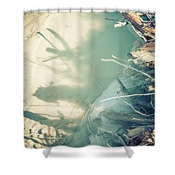 Natural Fantasmigoria Shower Curtain by Michele Cornelius