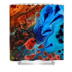 Natural Formation Shower Curtain by Sharon Cummings