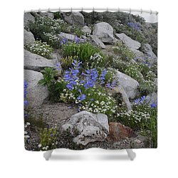 Natural Garden Shower Curtain
