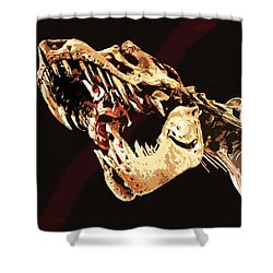 Natural History- T Rex Shower Curtain