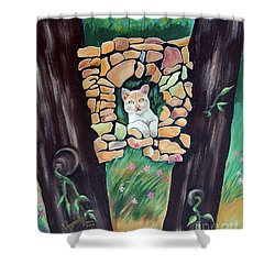 Natural Home Shower Curtain