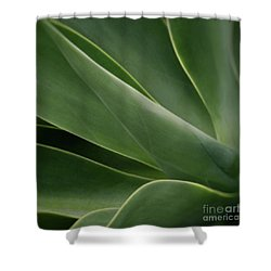 Natural Impressions Shower Curtain by Sharon Mau