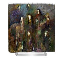 Natural Instincts Shower Curtain
